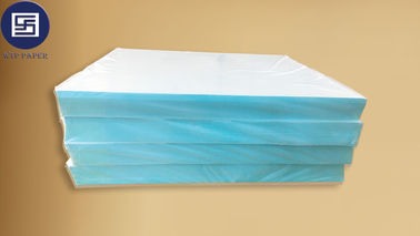 China Smooth Surface Blue Water Transfer Screen Printing Paper 400 * 600mm For Casque supplier