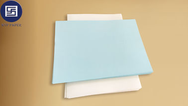 China 480 * 610mm Tattoo Transfer Inkjet Paper , Blue Waterslide Paper For Tattoos supplier