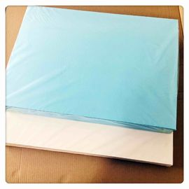 China Blue Decal Transfer Paper 400 * 600mm Good Slip For Nails Art / Organic supplier