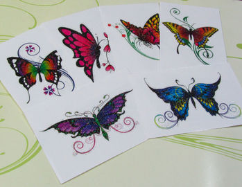 "China Waterproof Temporary Tattoo Decal Paper 11"" X 17"" 10 Sheets Each Pack OEM supplier"
