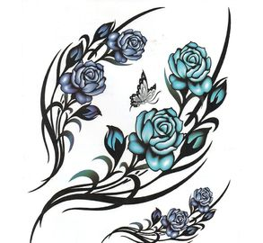 "China 8.5"" X 11"" Waterslide Decal Transfer PaperAnti Counterfeit For Temporary Tattoo supplier"