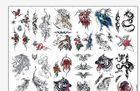 "China 8.5"" X 11"" Temporary Tattoo Decal Paper Water Transfer Type For Body OEM factory"