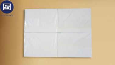 Good Slip Water Slide Transfer Printing Paper White 700 * 1000mm For Casque